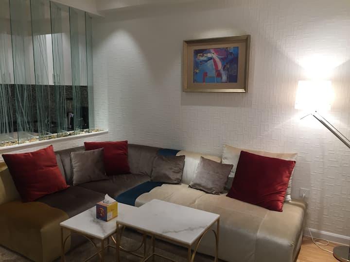 Shine's cozy apartment