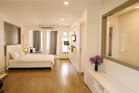 Master Room a 3 minuti a piedi da Hue Central