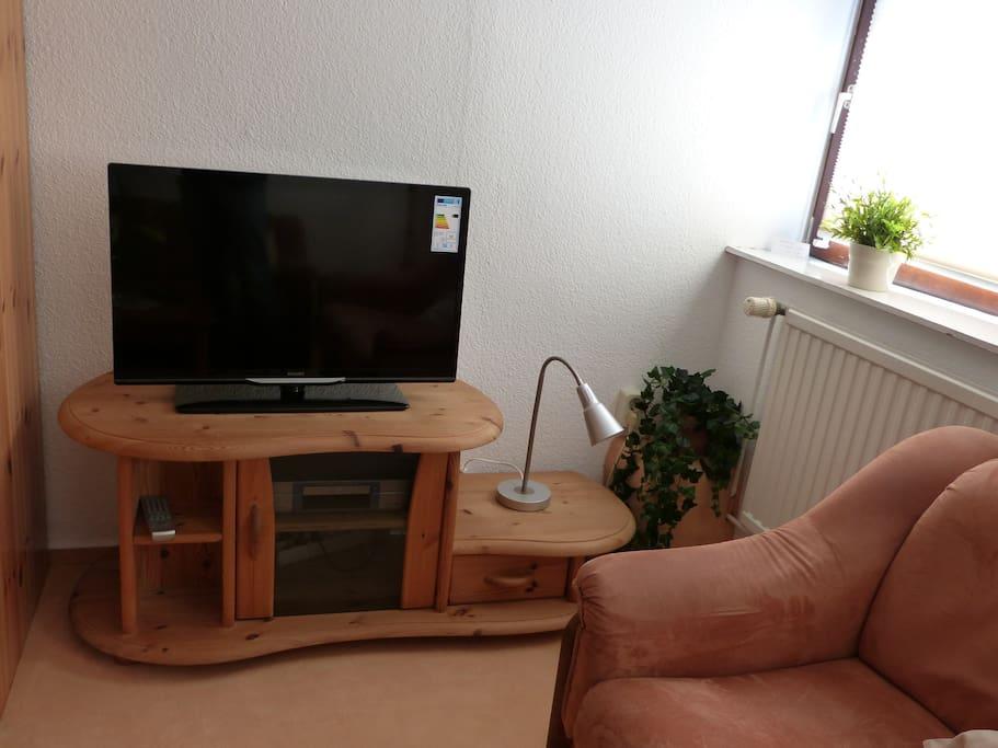 Fernseher, DVD, WLAN