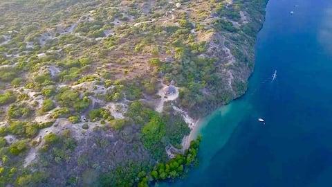 Kai House, Kiwayu Island, Lamu Archipelago Kenya.