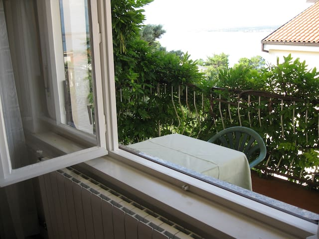 Beautiful view 50m near sea - Crikvenica - Bed & Breakfast