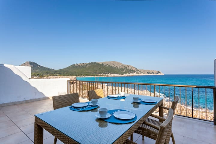 FIRST LINE Apartment w/ SEA VIEWS - CALA AGULLA - Cala Agulla - Flat