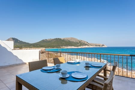 FIRST LINE Apartment w/ SEA VIEWS - CALA AGULLA - Cala Agulla - Daire