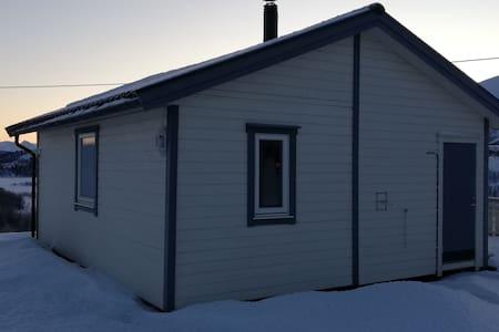 Cabin in Malangen, Northern light apartment