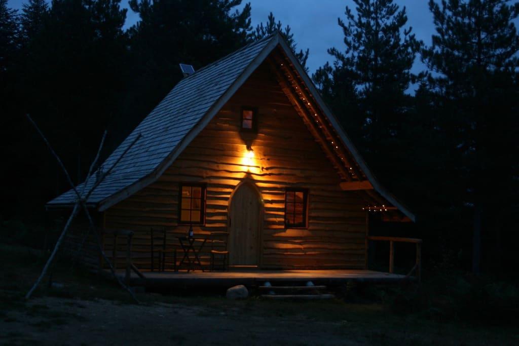 Enjoy an evening star gazing and listening to owls from the verandah.