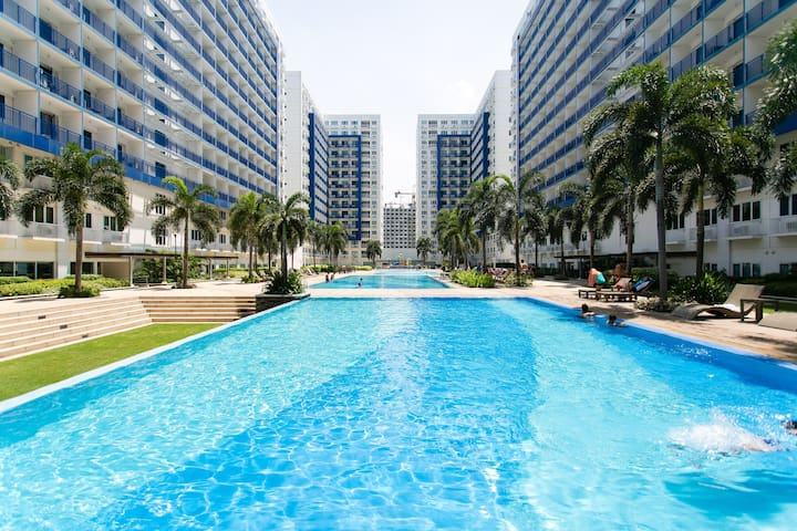 2 Bedroom Condo Across Mall of Asia - 馬尼拉 - 公寓