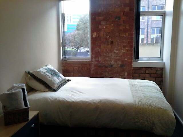 City centre apartment, train, UoL - Leicester - Wohnung