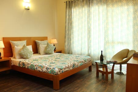 Private Serviced Suite with balcony - Gurugram