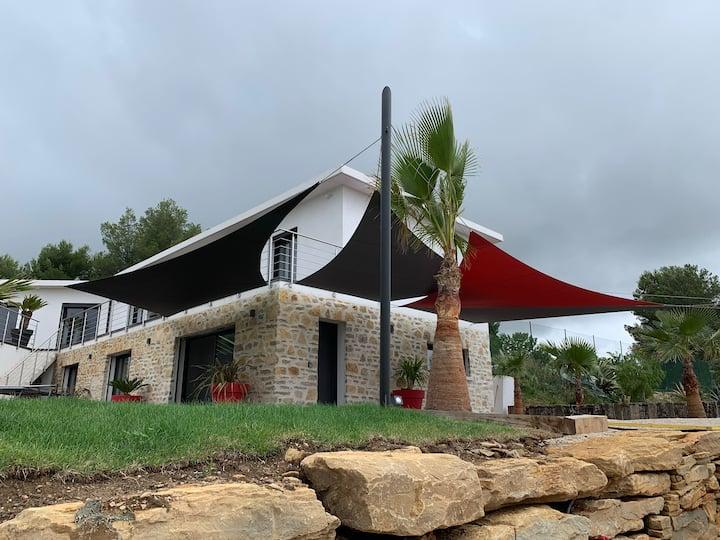 Maison entre terre et mer à la Cadière D'azur