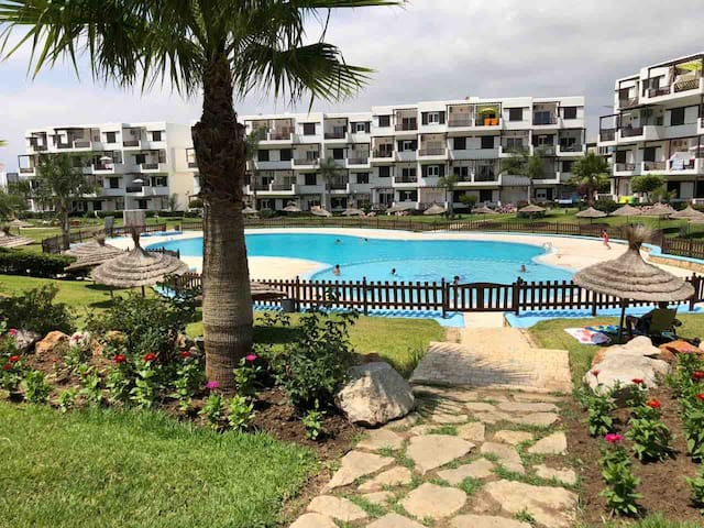 Studio vue Pescine Mirador golf appart hotel
