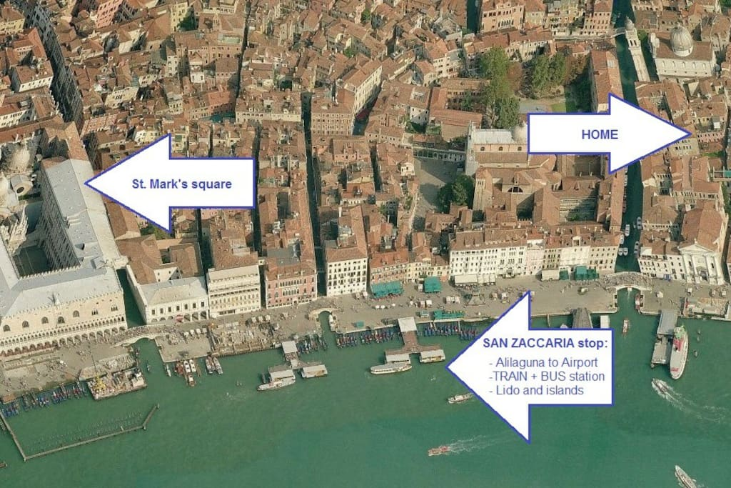 location! location! 4 minutes walk to Doge's Palace and Saint Mark square!