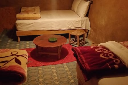 4 People Bedroom - Authentic Saharan Guesthouse - Mhamid - 宾馆