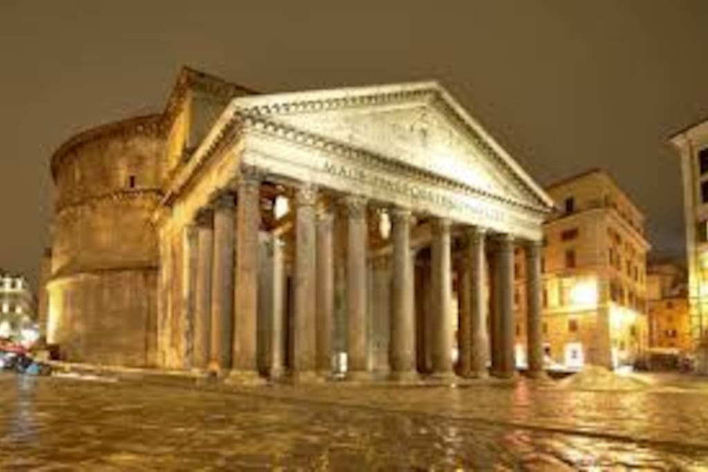 Pantheon,7 mins by walk