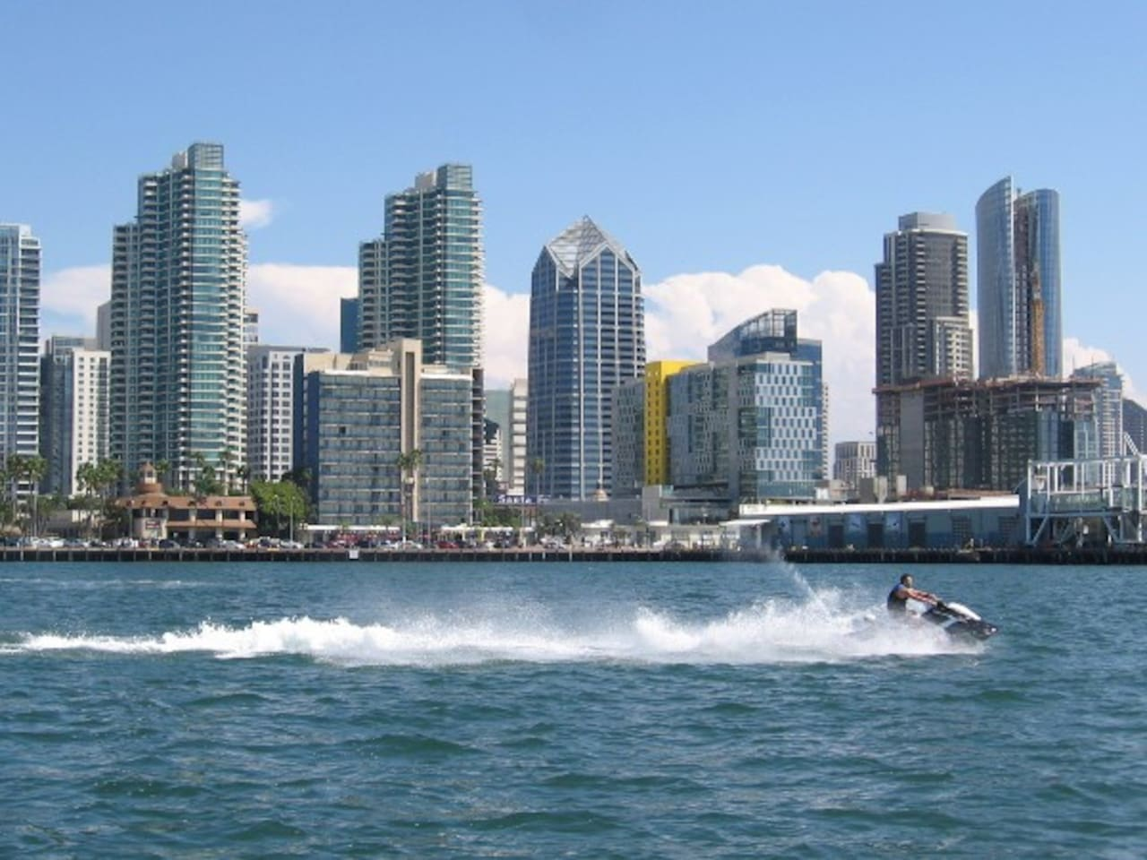 Close to the Marina District  and The San Diego Bay