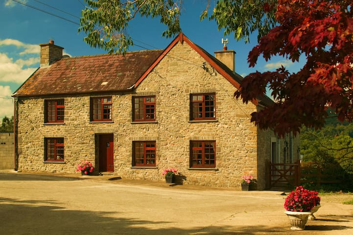 Cwmgwyn Farm B&B Twin Bedded Room - Carmarthenshire - Bed & Breakfast