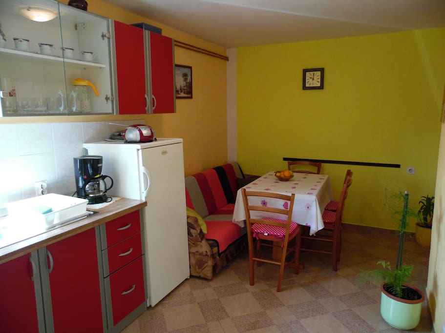 Kitchen - Apartment 1