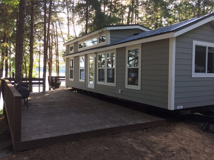Waterfront Two Bedroom Cabin #14 at Long Cove Resort