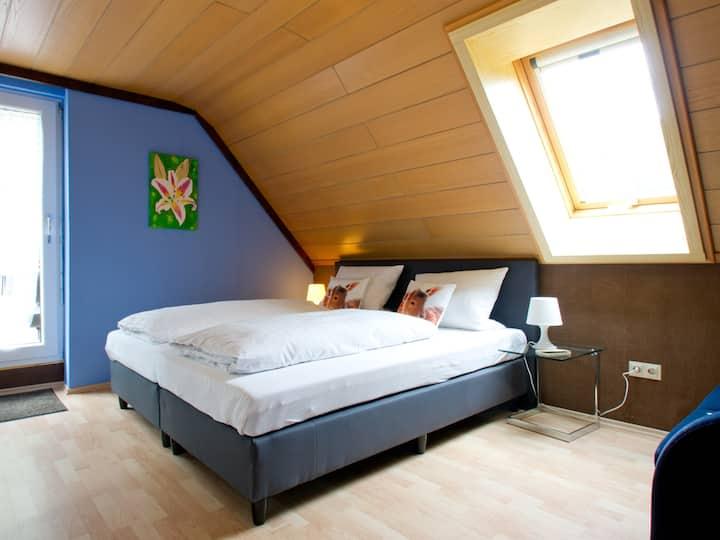 Landpension Am Sommerhang, (Bad Rippoldsau-Schapbach), Ferienwohnung Larissa, 40qm, 1 separates Schlafzimmer, maximal 2 Personen
