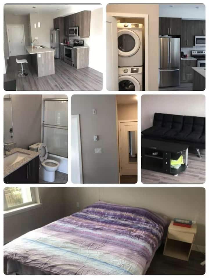 New upscale apartment, one bedroom