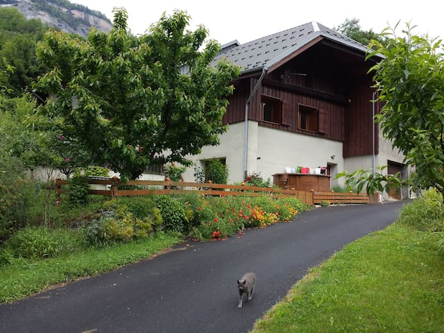Large & comfortable  house, Savoie - MONTVERNIER - House