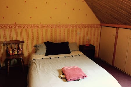 Nice cosy bedroom and bathroom upstairs - Dammarie-les-Lys