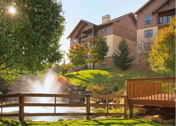 Mtn Getaway Wyndham Smoky Mountains 2 BR