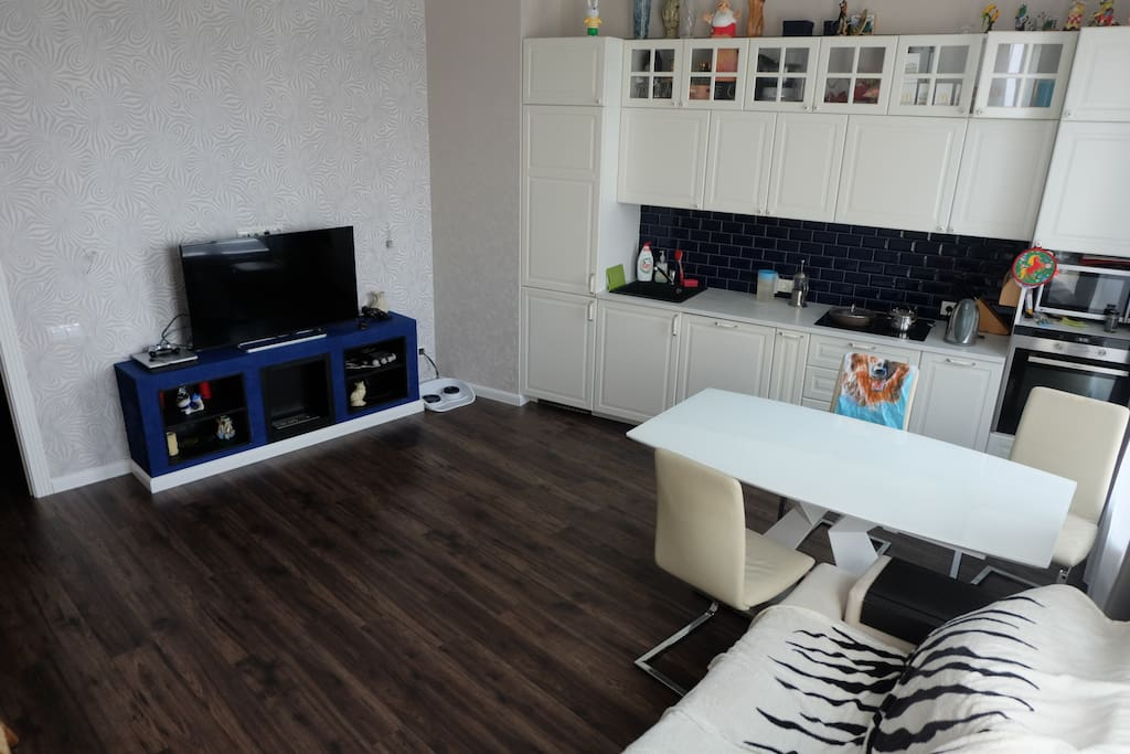 Kitchen-living room / кухня-гостиная