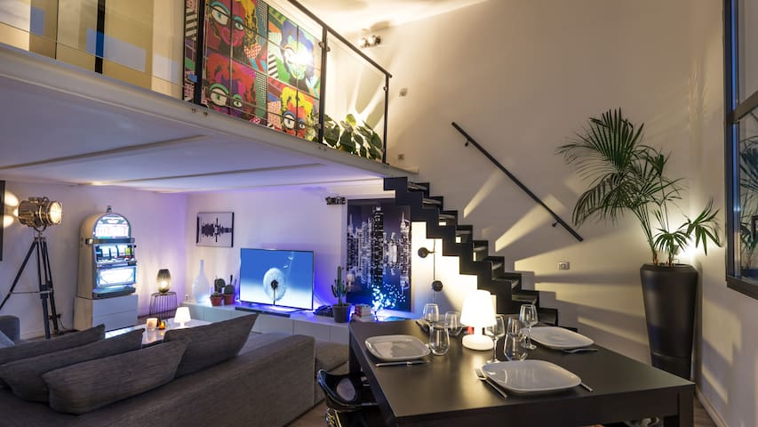 Beautiful Modern Loft + Car Park - Aubervilliers - Loft