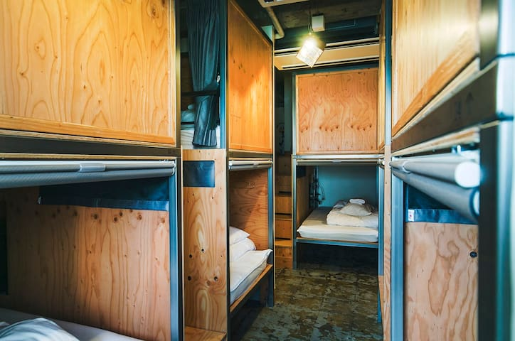 WISE OWL HOSTELS TOKYO Bunk Bed in Mixed Dorm Room