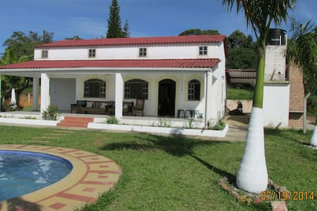 finca con piscina privada - Barbosa