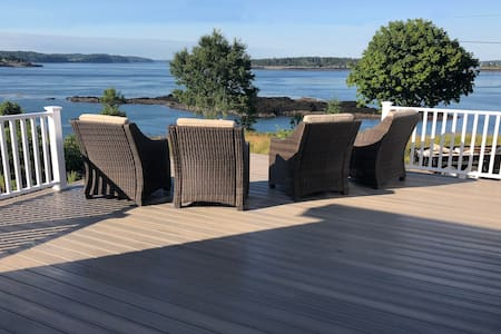 Watch the Whales from your Deck!