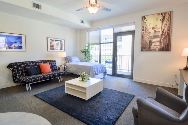 Downtown Dallas New Trendy Modern 1BR Apartment