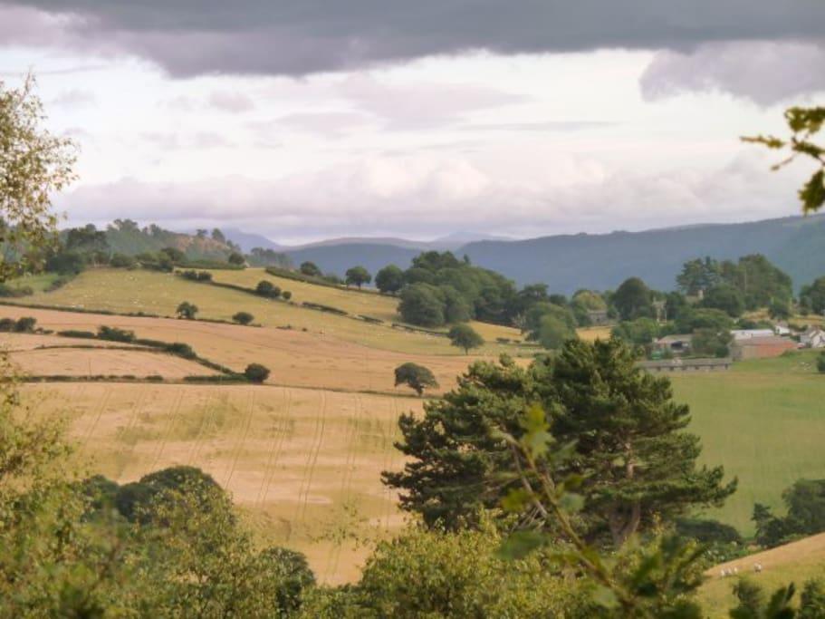 Views from Tan y Graig, Conwy, Snowdonia, North Wales