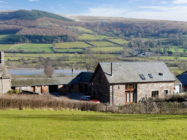 Eco-Barn in Brecon Beacons - Brecon - House