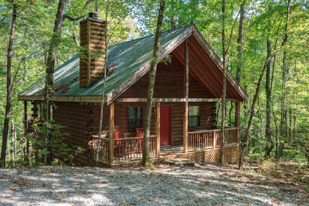 Bear hollow romantic cabin w hottub 99 wkdays cabins for Romantic big bear cabins