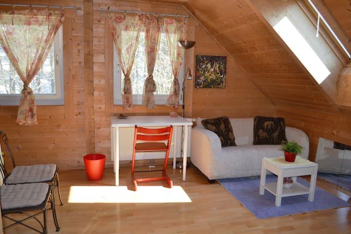 Extra gemütliches Holzhaus - Hof bei Salzburg - Casa