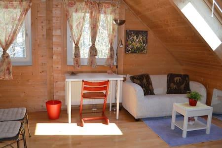 Extra gemütliches Holzhaus - Hof bei Salzburg