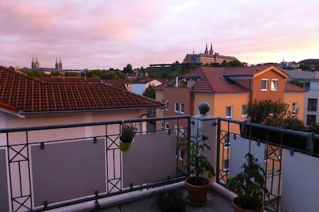 Wunderschönes Zimmer Innenstadt Blick Dom - 班贝格(Bamberg) - 公寓