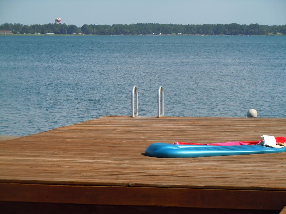 Nothing like a nice big dock for sunbathing.