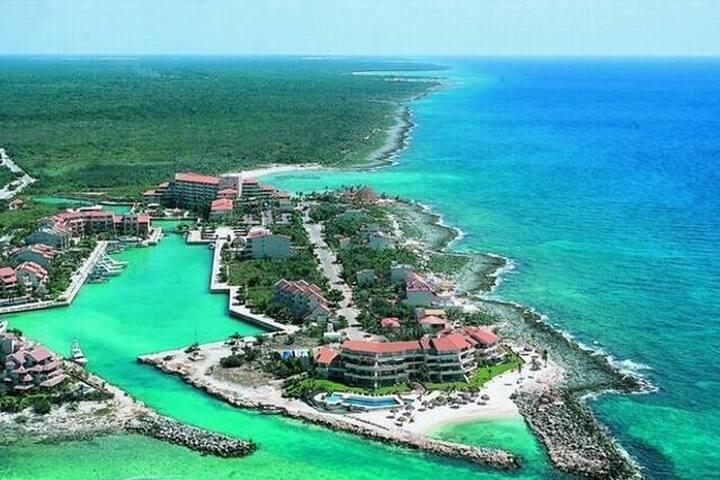 En el corazón de Riviera Maya y Puerto Aventuras