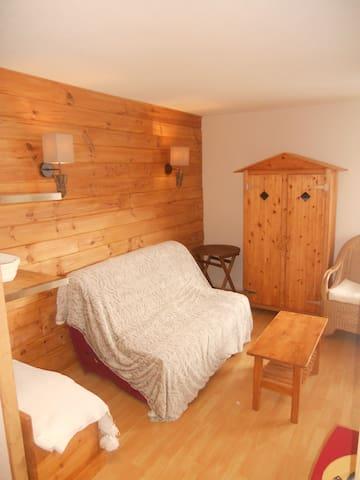 Appt de montagne av. vue magnifique - Château-Bernard