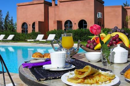 Villa vue Jardin 4 pax - Marrákes