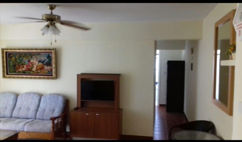 Oroklini beach apartment