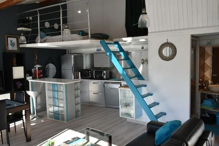 Maison individuelle dans propriété