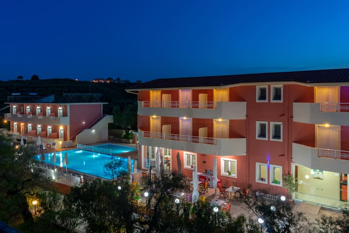 Welcome to Zante Pantheon Hotel.