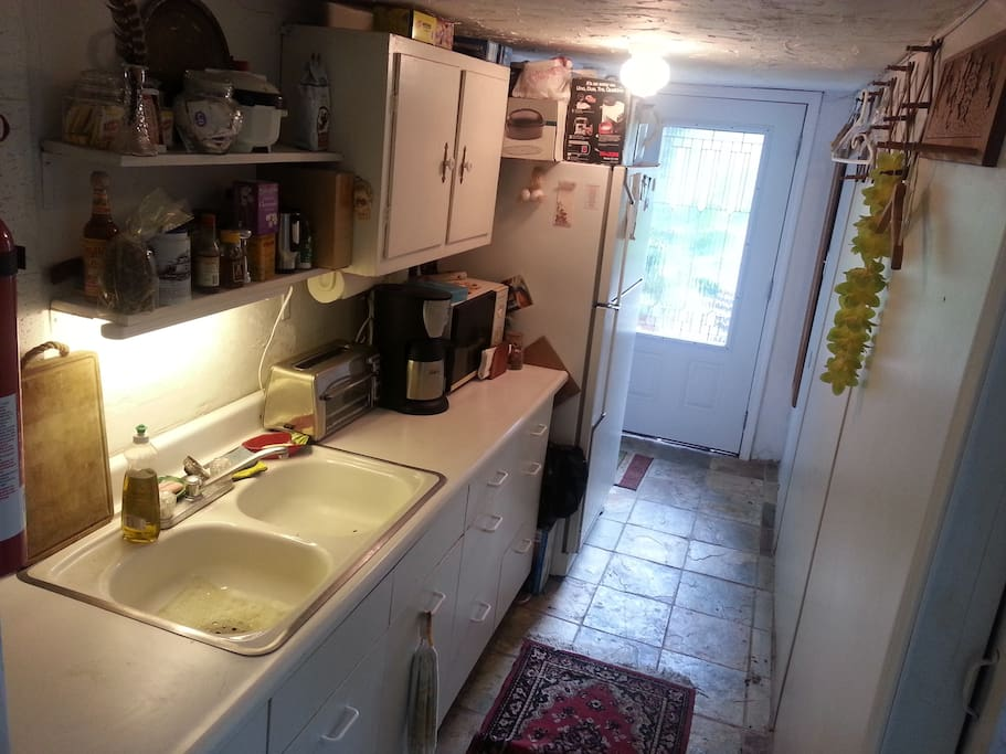 kitchen with pvt entrance in BG