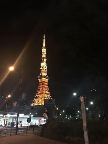 東京Tower-5分-Tokyo Tower-5mins - Minato - Apartemen