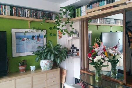 CLEAN ROOM WITH AC (tax included) - New York - Wohnung