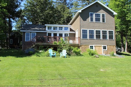 3 Bedroom, 2 bath, located on Embden Pond