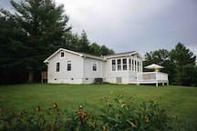 View of house from pasture.